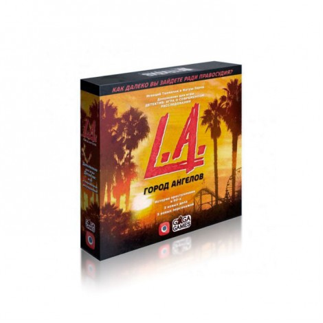 Детектив: Город ангелов (Detective: A Modern Crime Board Game – L.A. Crimes)