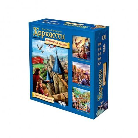 Каркассон: Королевский подарок - Новое издание (Carcassonne Big Box)
