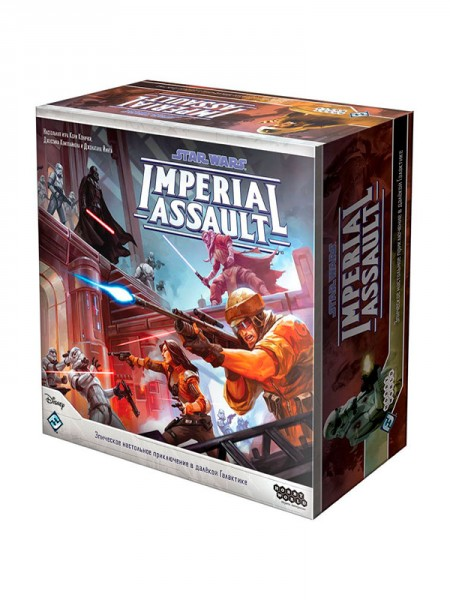 Star Wars: Imperial Assault - Базовый набор (Star Wars: Imperial Assault)