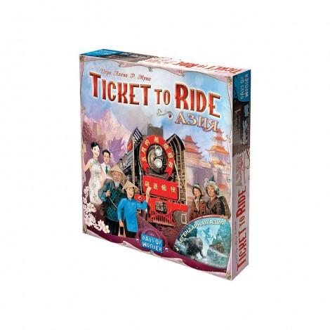 Билет на поезд: Азия (Ticket to Ride Map Collection: Volume 1 – Team Asia & Legendary Asia)