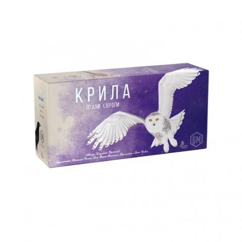 Крила: Птахи Європи (Крылья: Птицы Европы, Wingspan: European Expansion)
