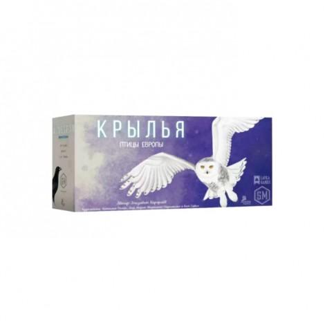 Крылья: Птицы Европы (Wingspan: European Expansion)