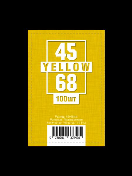 Протекторы для карт 45 x 68 мм (100шт)