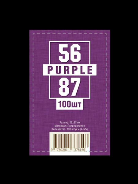 Протекторы для карт 56 x 87 мм (100шт)
