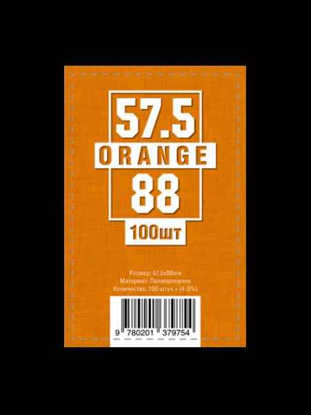 Протекторы для карт 57.5 x 88 мм (100шт)