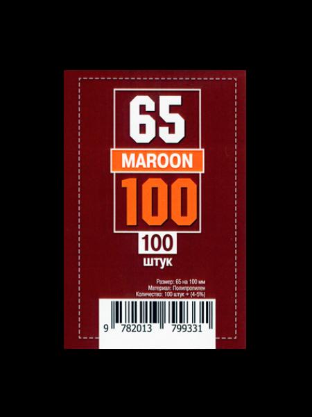 Протекторы для карт 65 x 100 мм (100шт)