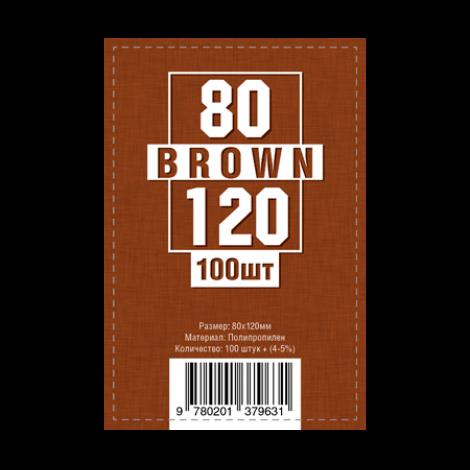 Протекторы для карт 80 x 120 мм (100шт)