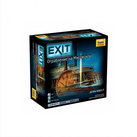 EXIT: Квест - Ограбление на Миссисипи (Exit: The Game – Theft on the Mississippi)